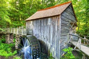 girst mill in cades cove